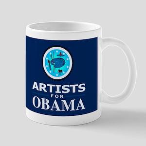 ARTISTS FOR OBAMA DARK Mug