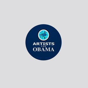 ARTISTS FOR OBAMA Mini Button