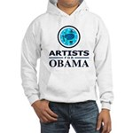 ARTISTS FOR OBAMA Hooded Sweatshirt