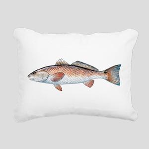 Redfish Rectangular Canvas Pillow