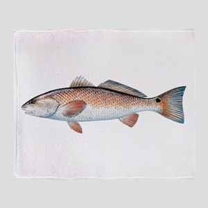Redfish Throw Blanket