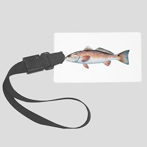 Redfish Luggage Tag