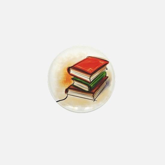 Cute Book Mini Button