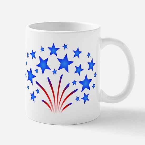 Stars & Stripes 4th of July Mug
