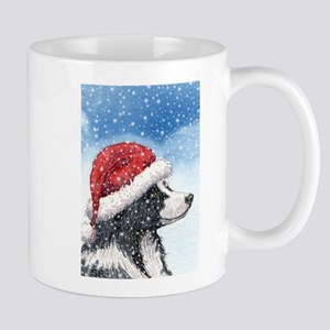 His Holiday Hat in the Snow Mug