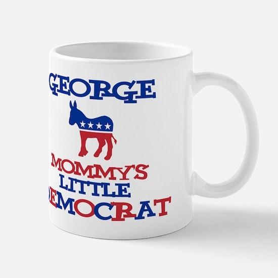 George - Mommy's Democrat Mug