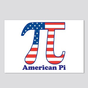 American Pi Postcards (Package of 8)