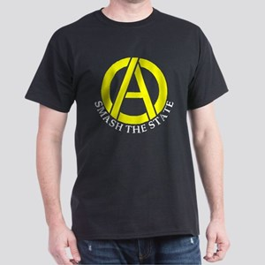 Smash the State with Anarcho-Capitalist Symbol Dar