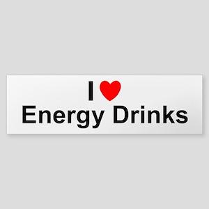 Energy Drinks Sticker (Bumper)