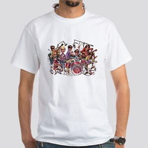 Cowsill 1960s Cartoon White T-Shirt