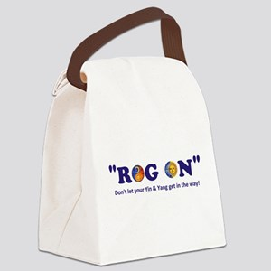 Roger Boggs - Yin & Yang Canvas Lunch Bag