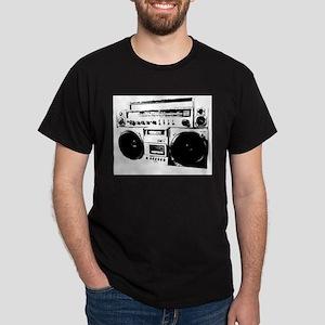 BoomBox Black T-Shirt