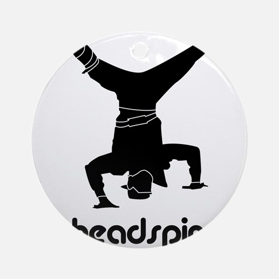 Headspin Ornament (Round)