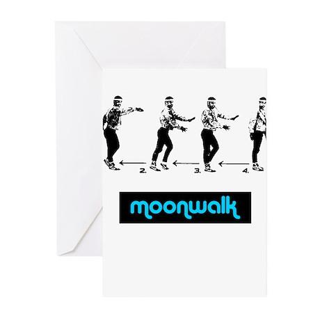 Moonwalk 02 Greeting Cards (Pk of 10)
