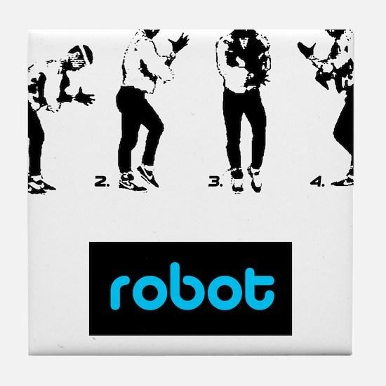 Robot 01 Tile Coaster