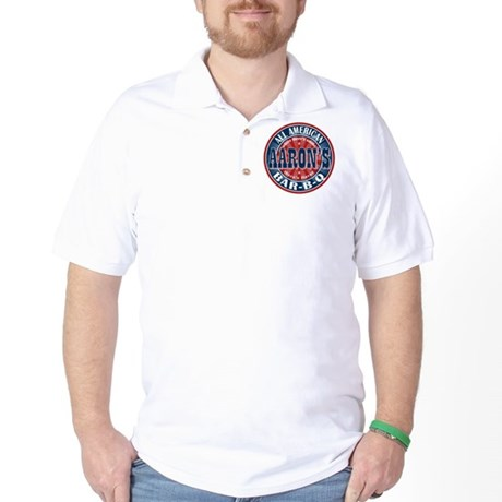 Aaron's All American Barbeque Golf Shirt