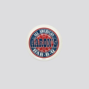 Aaron's All American Barbeque Mini Button