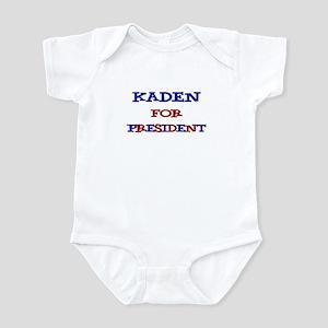 Kaden for President Infant Bodysuit