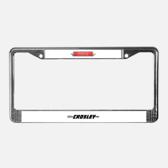 License Plate Frame: CCOC banner and arrow logo