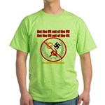 Get Out Of the United Nations Green T-Shirt