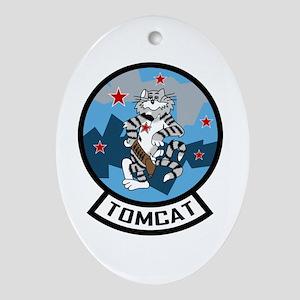 Top Gun Oval Ornament