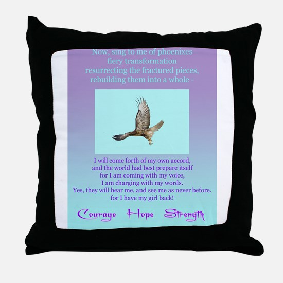 Survivor Items #1 Throw Pillow
