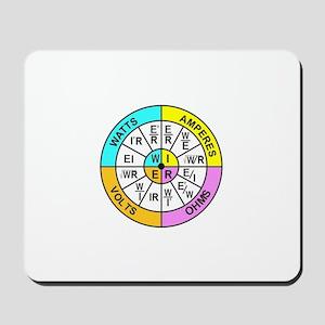 Ohm's Law - color Mousepad