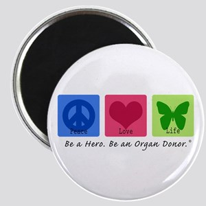 Peace Love Life Magnet