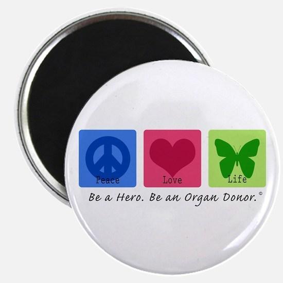 Peace Love Life Magnet