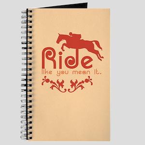 Jumper Horse Journal