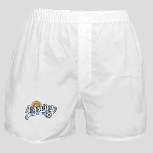 Argentina Soccer Boxer Shorts