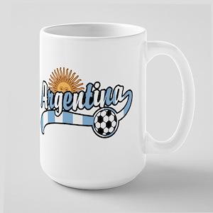 Argentina Soccer Large Mug
