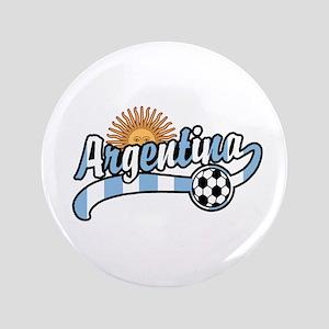 "Argentina Soccer 3.5"" Button"