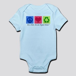 Peace Love Recycle Infant Bodysuit