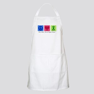 Peace Love Support BBQ Apron