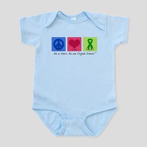 Peace Love Support Infant Bodysuit