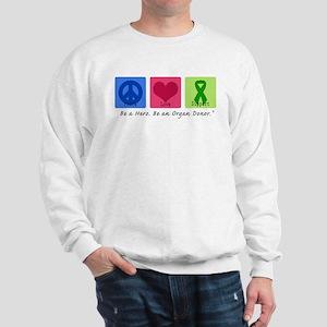 Peace Love Support Sweatshirt