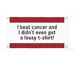 Cancer - Lousy T-Shirt Banner