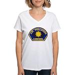 Smog Police Women's V-Neck T-Shirt