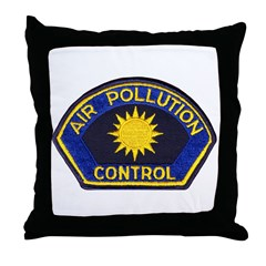 Smog Police Throw Pillow