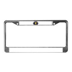 Smog Police License Plate Frame