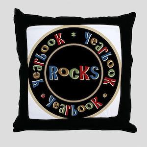 Yearbook Rocks Throw Pillow
