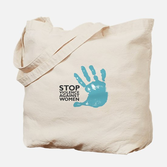 Stop Violence VS Women Tote Bag