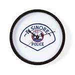 Elsinore Police Wall Clock