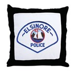 Elsinore Police Throw Pillow