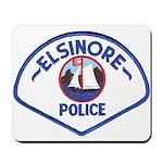Elsinore Police Mousepad