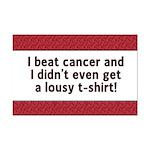 Cancer - Lousy T-Shirt Mini Poster Print