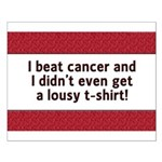 Cancer - Lousy T-Shirt Small Poster