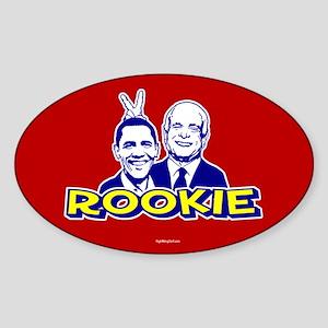 Anti-Obama - Rookie Oval Sticker