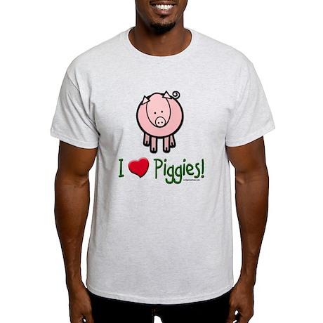 I heart piggies Light T-Shirt